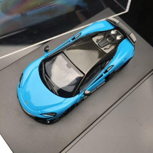 LCD 1:64 McLaren 600LT blue Die-cast Model Car