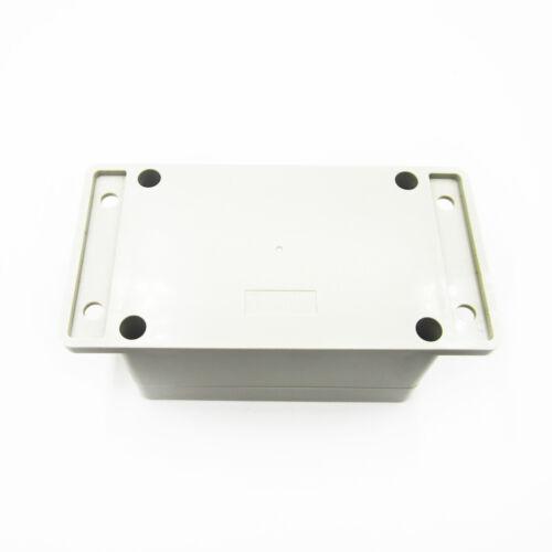100 x 68 x 50mm Waterproof Plastic Electronic Project Box Enclosure Case