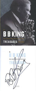 BB-King-SIGNED-AUTOGRAPHED-Treasures-HC-1st-Ed-1st-Print-NEW-CD-Blues-Grammy-NEW