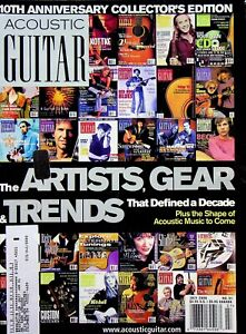 Acoustic Guitar Magazine 10th Anniversary Collectors Edition July 2000 m606