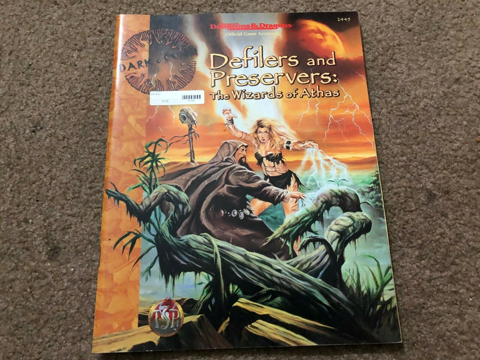 DEFILERS AND PRESERVERS THE WIZARDS OF ATHAS DUNGEONS & DRAGONS AD&D DARK SUN