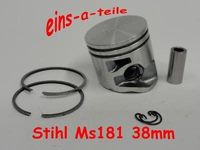 Kolben passend für Stihl 018 38mm mit 8mm Pin Piston