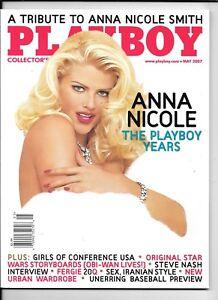 Back Issue May 2007 Playboy Magazine ~ Anna Nicole Smith