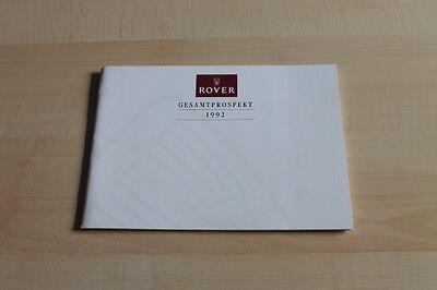 137870) Rover - Modellprogramm Inkl. Mini - Prospekt 03/1994 Om Geavanceerde Technologie Te Adopteren