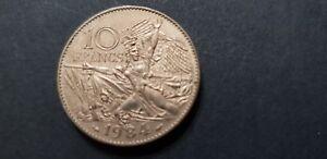 etat face A FRANCE  10 francs RUDE  1984