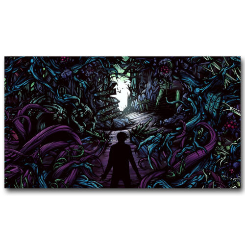 A Day To Remember Music Band Trippy Silk Poster 13x24 24x36 inch