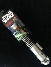 Star Wars Lightsaber Luke Skywalker Return Of The Jedi Extendable Green For Sale