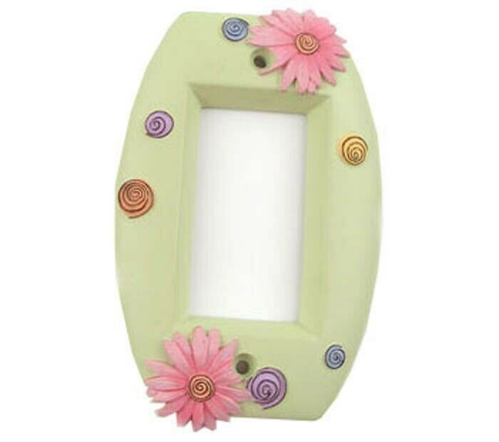 Pink Daisy Lightswitch Plate Single Toggle Flowers Floral Light Switch Cover For Sale Online Ebay