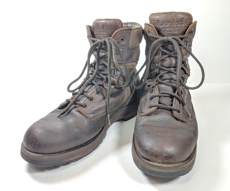 Rockport XCS Gore-Tex 10.5m Hiking Boots Mens Sz 10.5m Gore-Tex Brown Leather M3279(tu29) 7f64ed