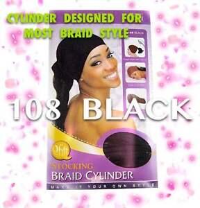 Admirable Qfitt Stocking Braid Cylinder Cap For Braiding Hair And Locks 108 Short Hairstyles For Black Women Fulllsitofus