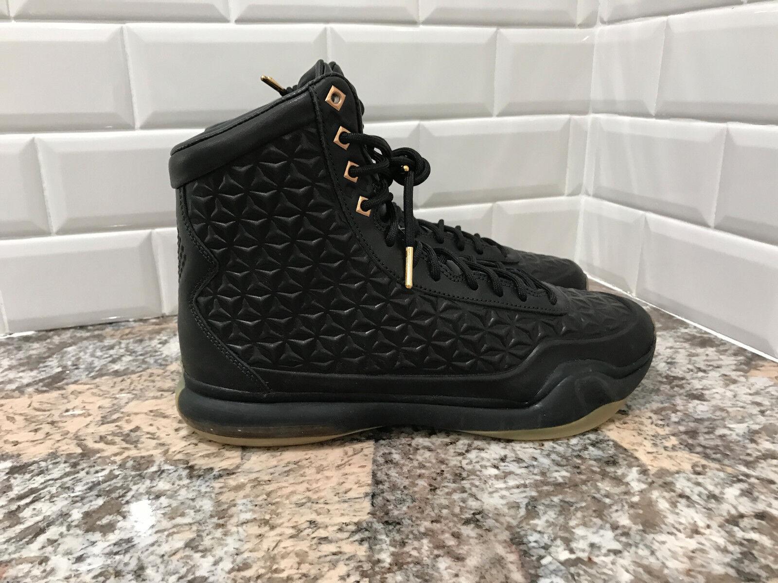 free shipping fc748 9f88b best Men's Nike Kobe X 10 Size 10.5 Elite EXT QS Black Gold Gum Sole 822950