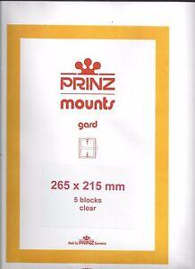 Copieux Package Of 5 Prinz Clear Mounts 265 X 215