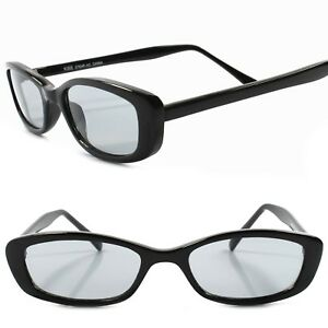 46059b5487d1 Classic True Vintage 80s 90s Deadstock Urban Fashion Black Rectangle ...