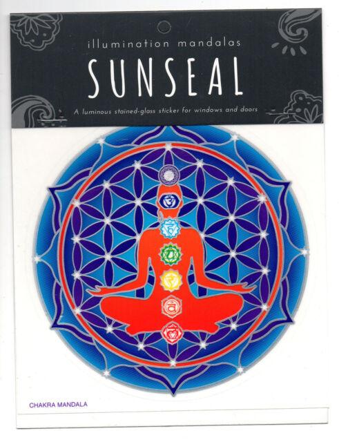 Chakra Mandala Sunseal Window Decal