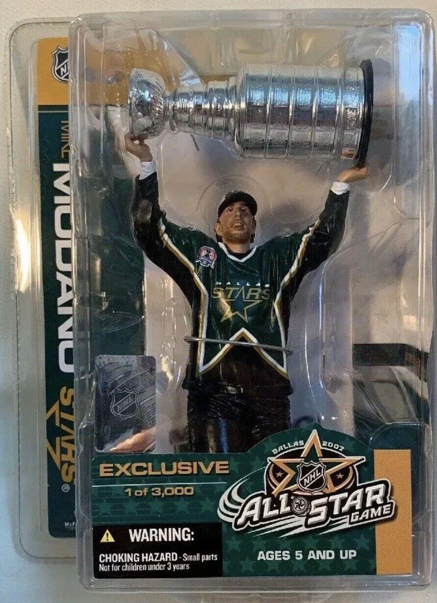 Mcfarlane NHL Exclusive Mike Modano Dtuttias estrellas Stanley Cup cifra statue 3000