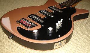 60 Quot Custom Black Vinyl Danelectro Silvertone Telecaster