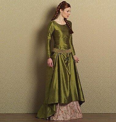 Viktorianisches Damenkleid und Unterrock Schnittmuster B 5831