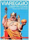 Cartolina - Viareggio - Carnevale - Corsi mascherati - Timbro filatelico - 1986