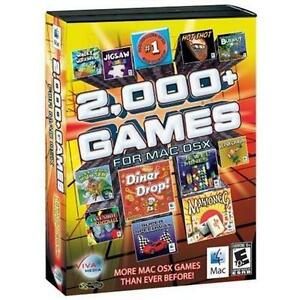 2000-Games-for-MAC-OS-X-Arcade-Puzzle-Sports-Brain-Teasers-Board-Brand-New