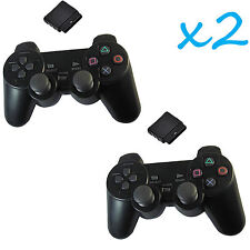 Wireless Shock Game Controller for Sony Ps2 - Black