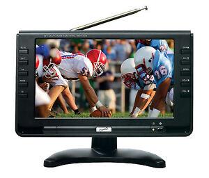SuperSonic-SC499-9-LCD-Portable-Digital-TV-with-ATSC-NTSC-Tuner-amp-AC-DC-SC-499D
