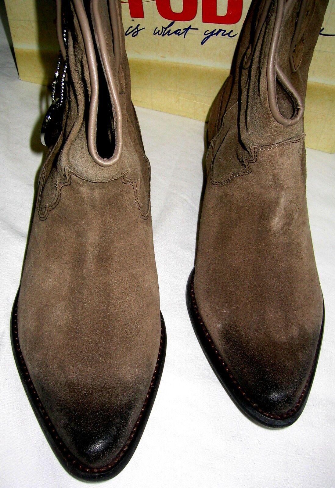 Trendy  BRONX / Cowboy Stiefel Stiefelette 38 / BRONX 5 Ancle Stiefel NEU Echt Leder used 0a0e5d