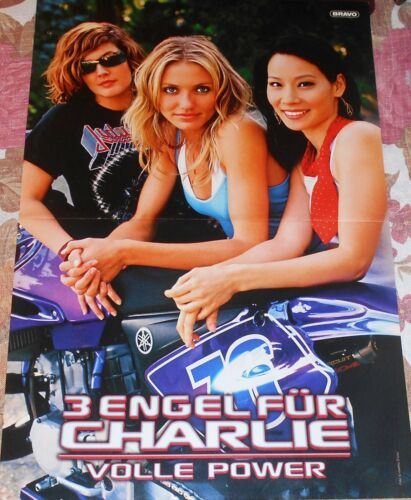 Magazine Movie Poster A3 Charlie/'s Angels Cameron Diaz Drew Barrymore