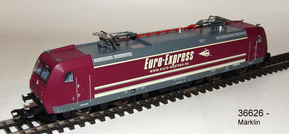 36626 E-Lok BR 146.0  Euro Express  MFX SOUND metallo  neu in OVP