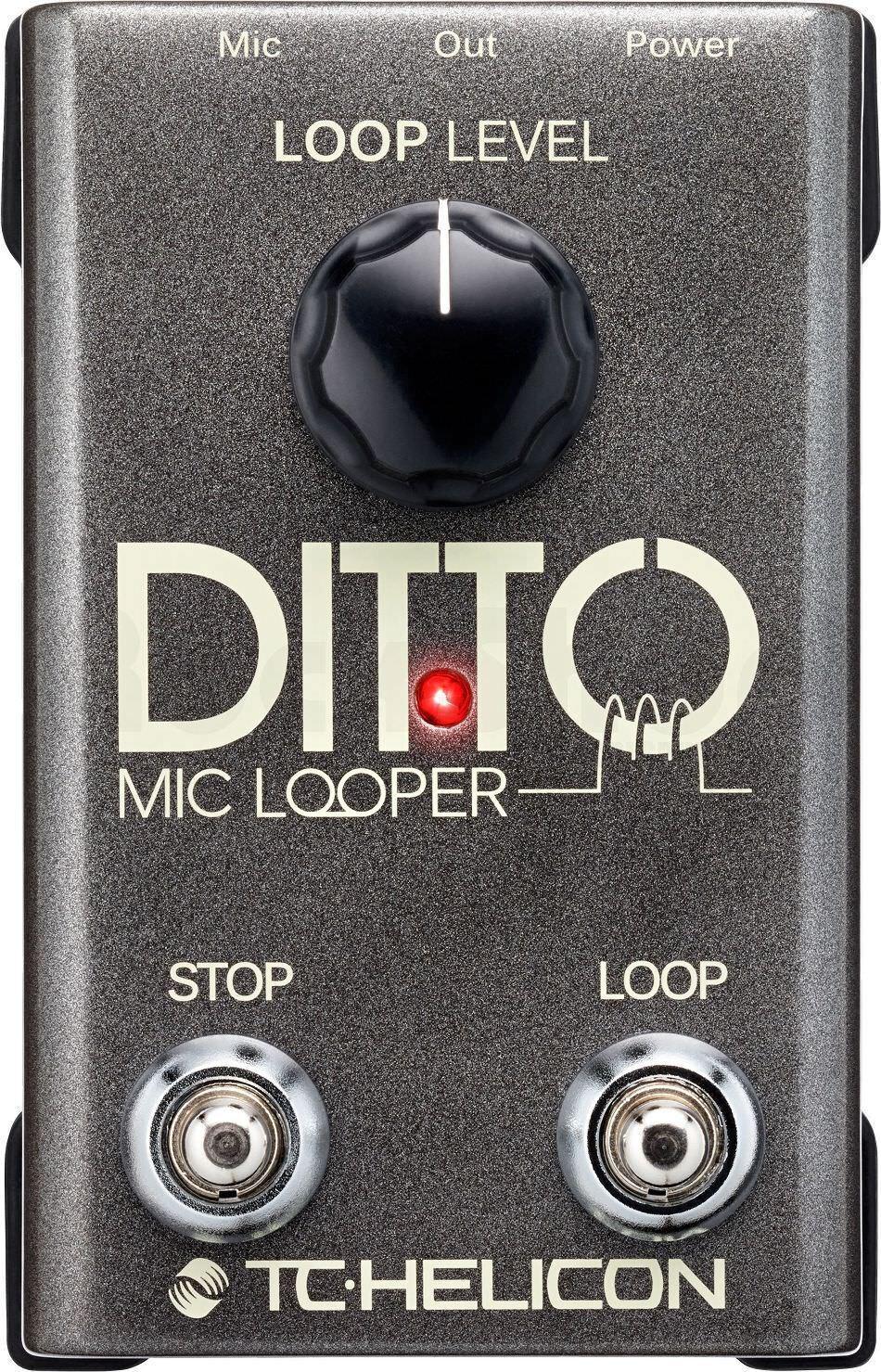 TC Helicon Ditto Mic Looper für Gitarre