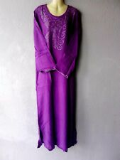 XL Abaya Maxikleid arabisches Kleid Jellabiya Jellaba Djelaba Sommerkleid L