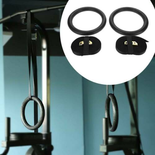 2 X Profi Turnringe Gymnastikringe Trainingshilfen Gym Ring Training EA 08