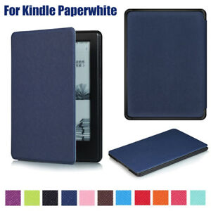 New Magnetic Wake/Sleep PU Leather Case Cover For Amazon
