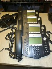 Lot Of 4x Polycom Soundpoint Ip550 Ip650 Sip Digital Voip Telephone