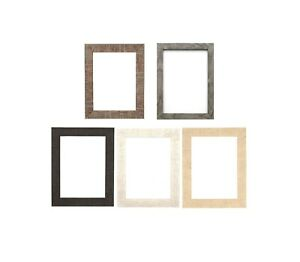 5d418e46f85 Shabby Chic Rustic Wood Grain Picture Frame Photo Frame Wall Decor ...