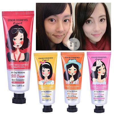 Skin BB Cream Moisturizing Creamy Concealer Makeup Foundation 50ml Blemish Balm