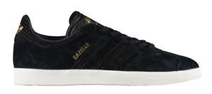 pretty nice b34cd 51a41 Details about NEW ADIDAS ORIGINALS GAZELLE Sneakers Casual WOMENS Shoes  BLACK GOLD size 6 US