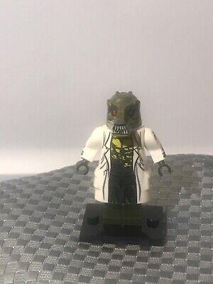 Custom Marvel Villain Lizard Spiderman Spider-Man Minifigure ARRIVES IN 2-4 DAYS