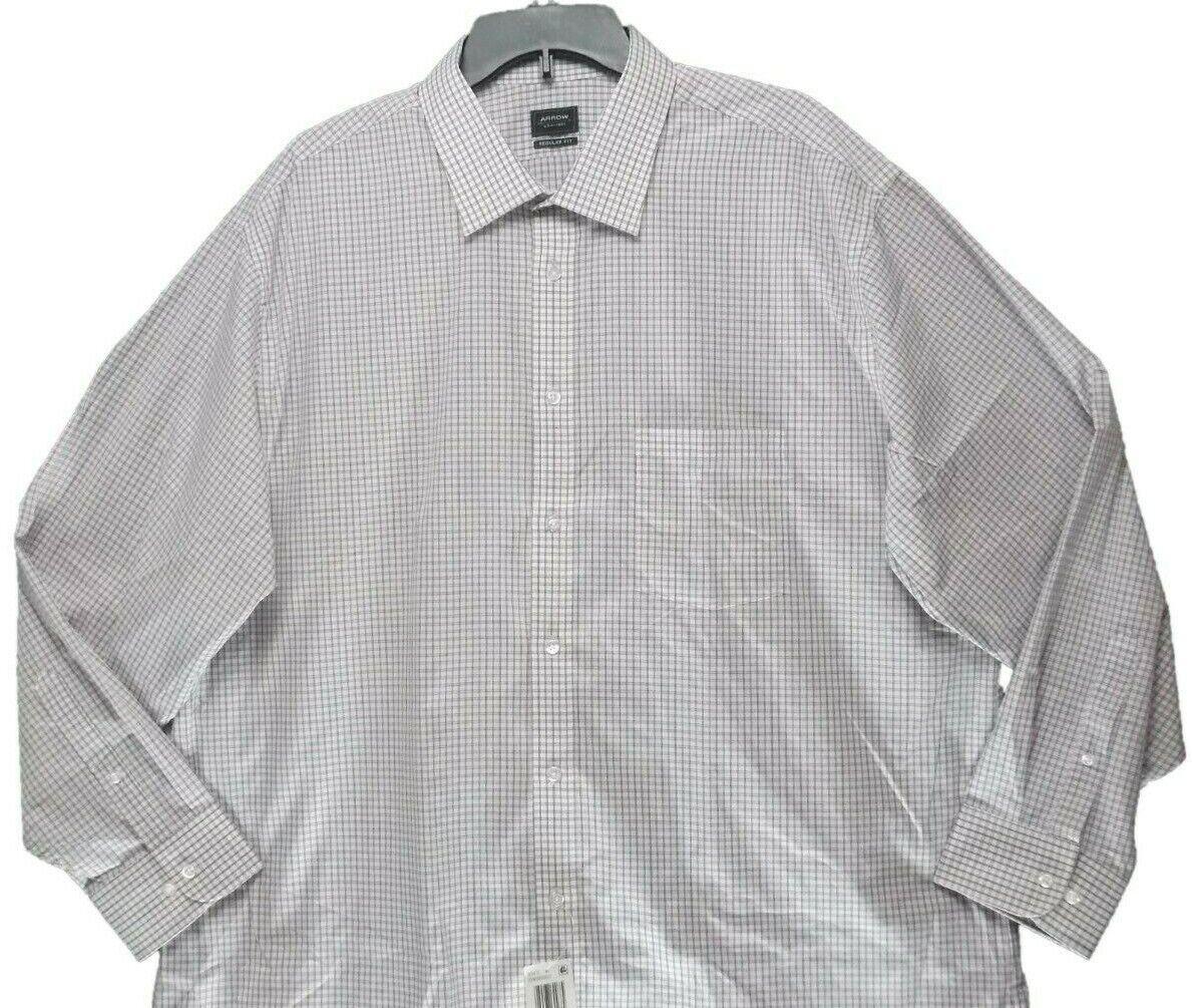 Arrow Blue Mens Dress Shirt
