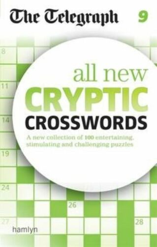 1 of 1 - The Telegraph: All New Cryptic Crosswords 9 (The Telegraph Puzzle Books), 060063