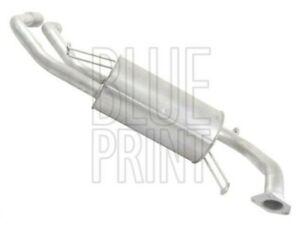 Exhaust Back / Rear Box fits MITSUBISHI FTO DE3A 2.0 94 to 01 6A12(DOHC)