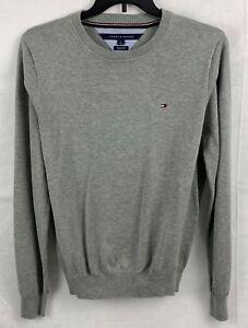 Tommy-Hilfiger-Men-039-s-Signature-Solid-Crewneck-Sweater