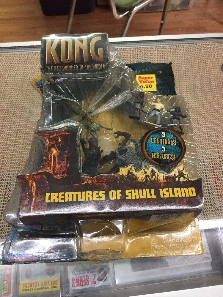 KING KONG CREATURES OF SKULL ISLAND Action Figure Playset Playset Playset (Playmates, 2005) NEW b8a248