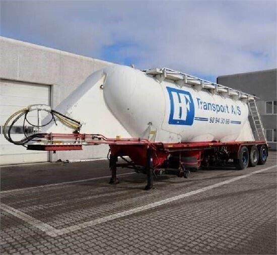 Andet Interconsult 40m³ Silotrailer - Med 3 rum /...