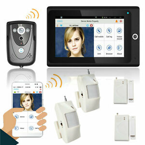 7-034-WiFi-Wireless-Video-Door-Phone-intercom-Doorbell-IP-Camera-Home-alarm-system