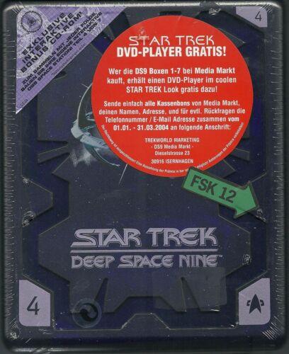 1 von 1 - Star Trek Deep Space Nine Season 4 Hartbox Deutsche Ausgabe Neu OVP Sealed OOP
