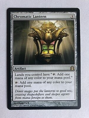 Chromatic Lantern Return To Ravnica QUASE PERFEITO Magic The Gathering