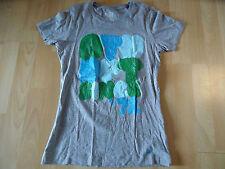 Tamaño de impresión gris m. NIKE camiseta fit slim gran superior M SH316