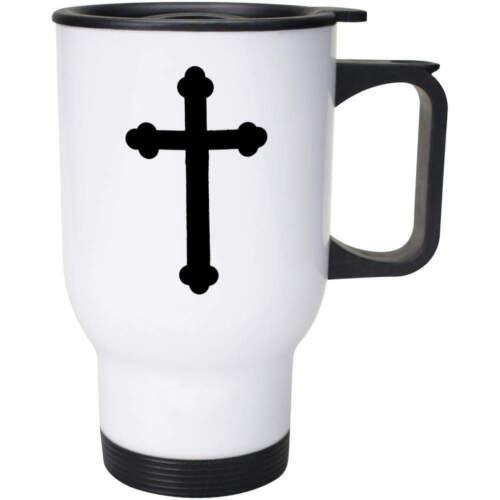 /'Crucifix/' Ceramic Mug Travel Cup MG024568