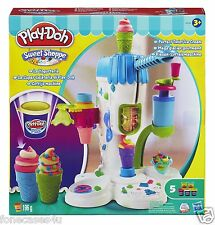 Hasbro Play-doh Sweet Shoppe Twist Ice Cream Parlour Playset Kids Toys