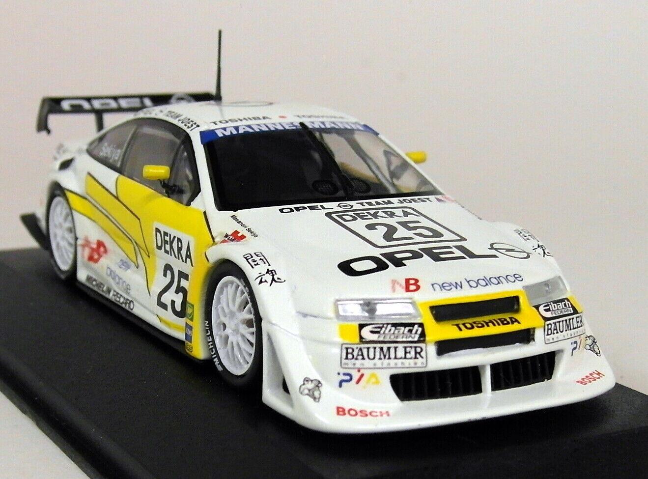 Minichamps échelle 1 43 Opel Calibra V6 4X4 ITC 1996 Suzuka M. Sekiya Diecast Voiture